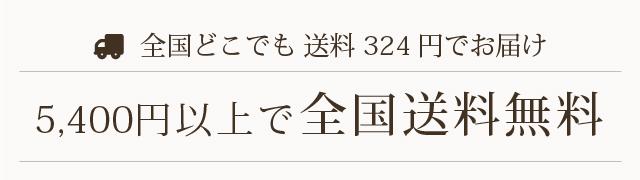 5400円以上 送料無料