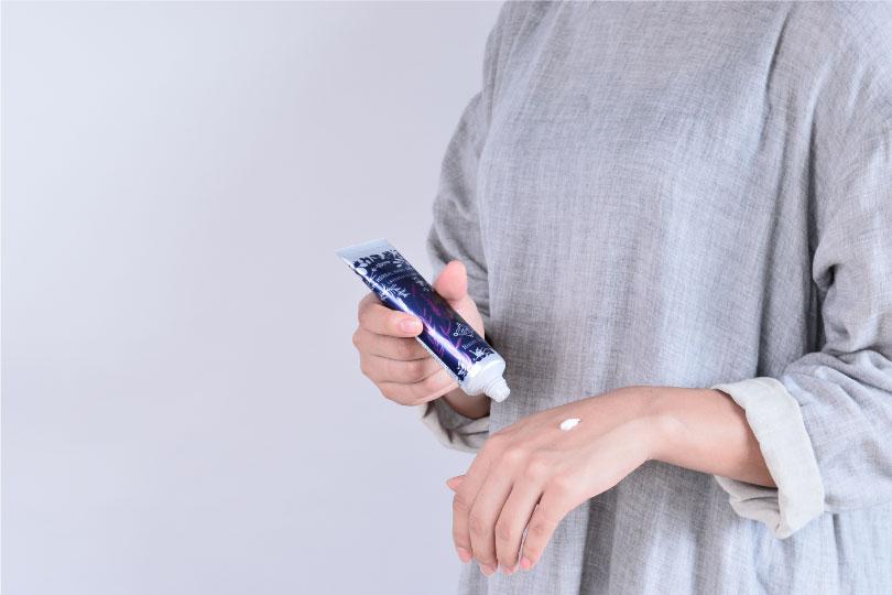 手洗い・消毒後の手肌を大切にしてください